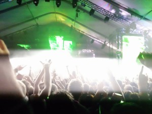 Pretty Lights performace @ Lolla 2011