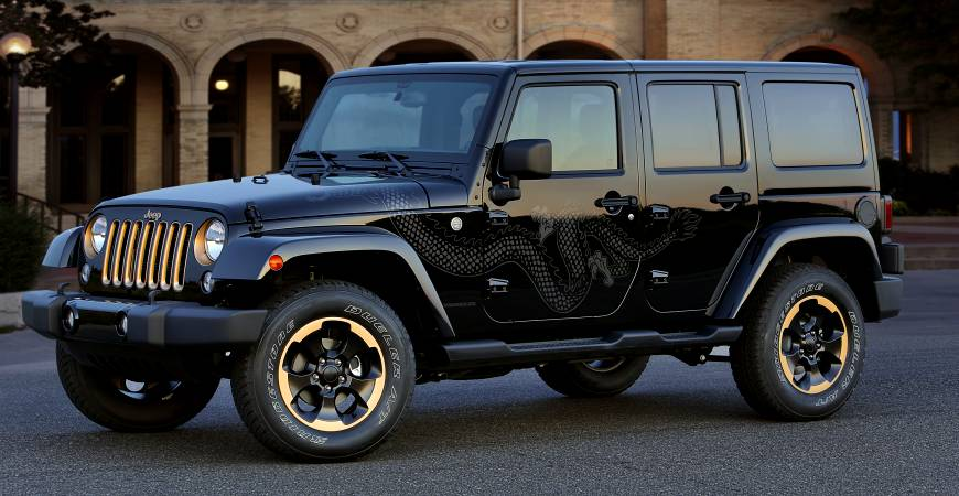 Dope Mods- 2014 Wrangler Dragon Edition