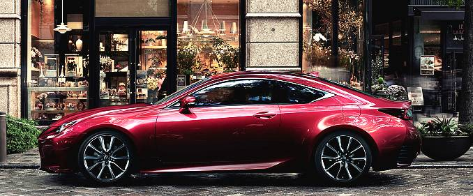 First Look – Lexus RC Refines the Luxury Performance Coupe