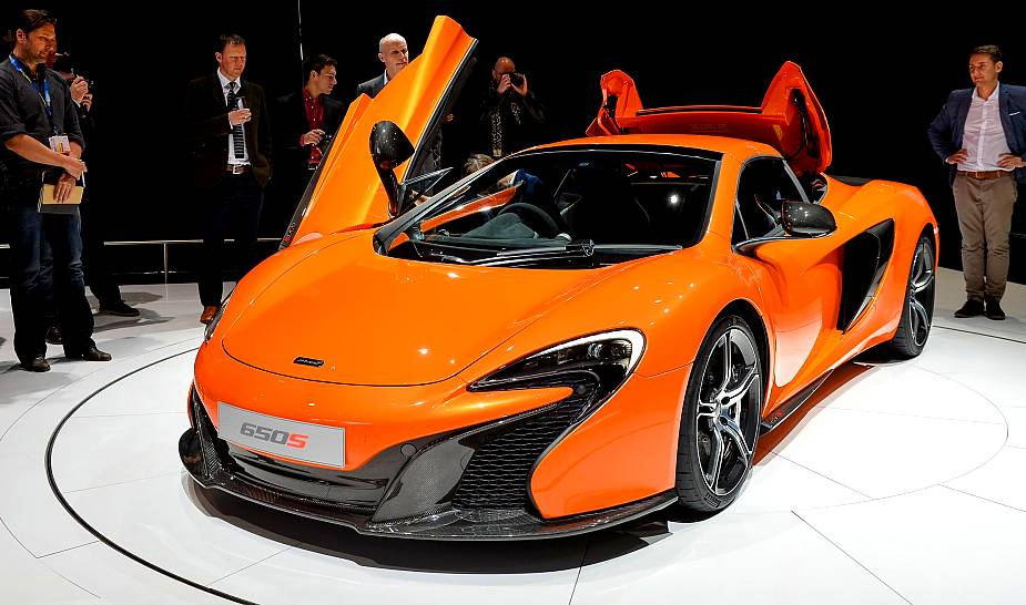 First Look – 2014 McLaren 650S Coupe and 650S Spider
