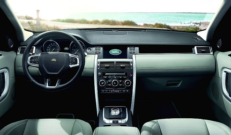 2015 land rover discovery sport interior unrated flair. Black Bedroom Furniture Sets. Home Design Ideas