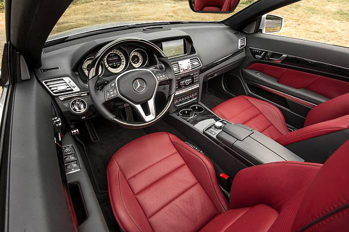2014 E550 Cabriolet front seat