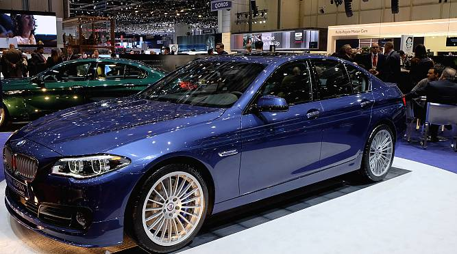 2016 BMW Alpina B6 Gran Coupe At Geneva Motor Show 2015