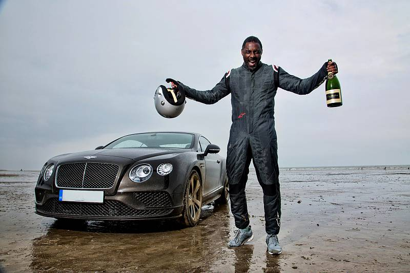 Actor Idris Elba Breaks 180mph Record in a Continental GT Speed