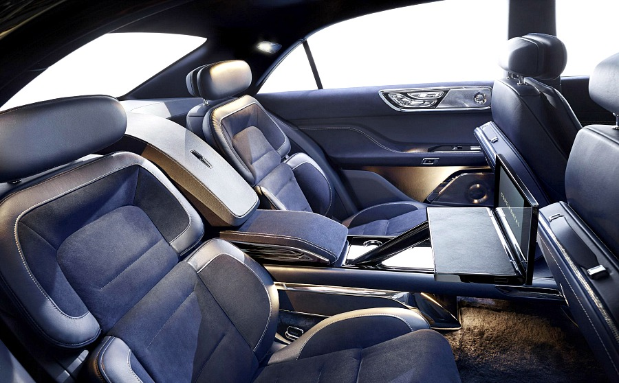 Lincoln Continental Concept interior rear
