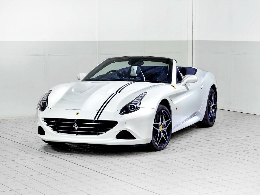 Tailor Made Ferrari Califonia T features new Mycro Prestige Fabric