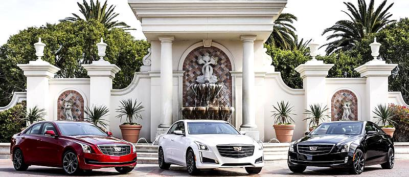 Cadillac ATS and CTS with Black Chrome Package