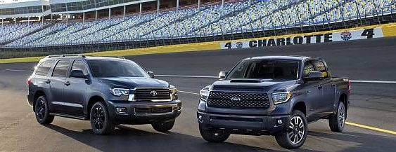 2018 Toyota Sequoia TRD Sport and Tundra TRD Sport