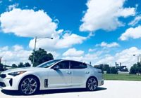 Video – Kia Stinger Stuns on Inaugural Run
