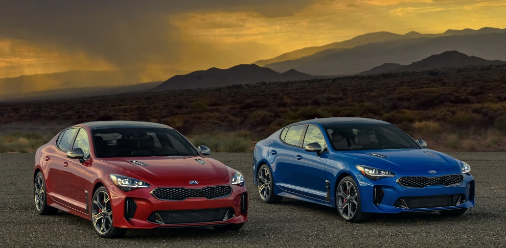 2019 Stinger GT2 RWD and 2019 Stinger GT2 AWD